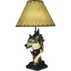 wolf lamps wolf lighting wolves home decor table lamp polyvore