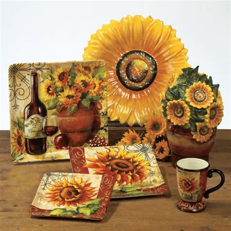 sunflower canisters for kitchen best 20 sunflower design ideas on pinterest