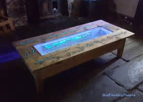 Glow In The Dark Table diy pallet coffee table glow in the dark wood projects