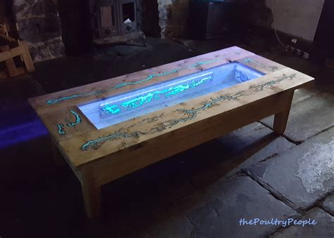 table top grow l diy pallet coffee table glow in the wood projects