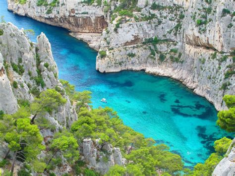 Cassis France This Is A Calanque There Are Many By