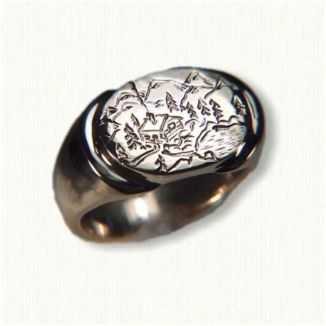 custom signet ring images frompo