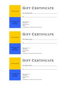 wedding gift certificate template free download