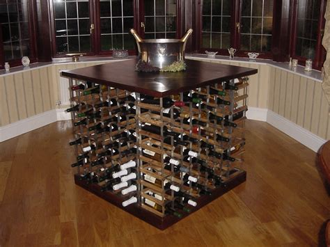 Why Rack Wine by Centre Island Wine Racks Make For A Great Kitchen Display