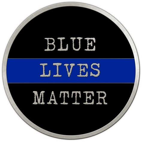 lives matter blue lives matter challenge coin medalcraft mint inc