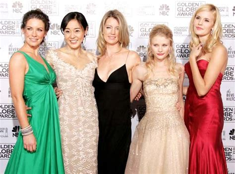 Golden Globes The Of Lost by Actresses From The Television Series Lost Pose At The