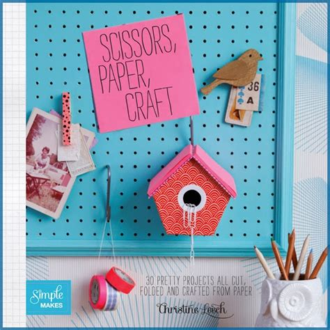 Paper Crafts Book - the papercraft post book review scissors paper craft