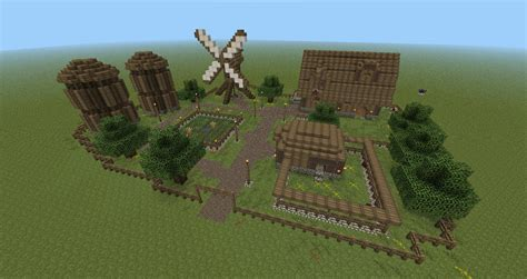 Barn And House Combo farm pack minecraft project