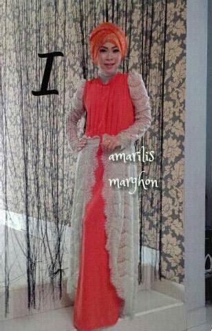 Gamis Wolfis Bulgary Dress amarilis by marghon i baju muslim gamis modern