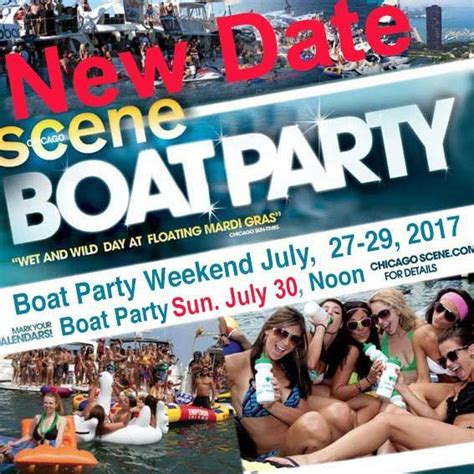 chicago scene boat party pictures chicago scene boat party weekend posts facebook