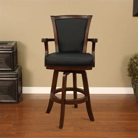 American Heritage Furniture by American Heritage Billiards Auburn 30 Quot Bar Stool In Suede 100619sd S L 1