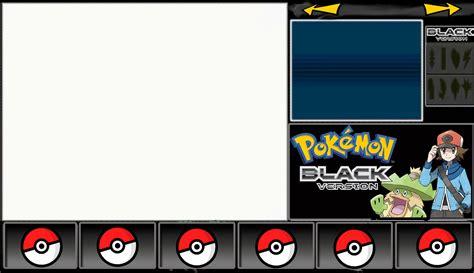 pokemon black layout by generallper on deviantart
