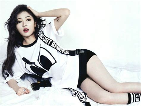hyuna is as sexy as ever in recent photo shoot soompi reporters capture hyuna dressed in quot lingerie quot fashion