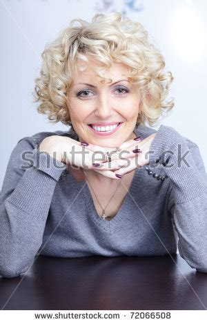 this pretty blond haired middle aged stock photo 86043952 stock images similar to id 77454145 beautiful woman with