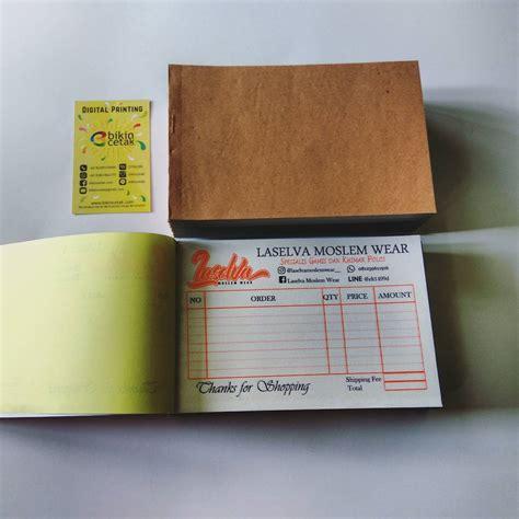 Printer Nota Murah cetak nota kwitansi percetakan murah surabaya