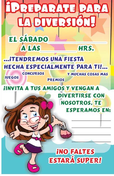 tarjeta de invitacion para el dia de los jardines invitaci 243 n d 237 a del ni 241 o ebi mexico