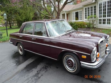 used mercedes for sale in ohio 1972 mercedes 200 northeast ohio cars for sale