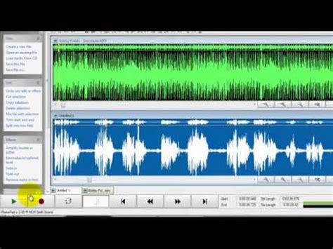 tutorial wavepad tutorial uso de wavepad youtube