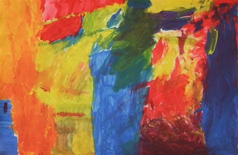 color painting 1st 2nd and k primary colors painting collaboration ms