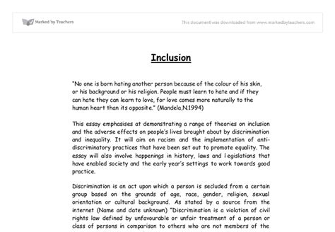 Discrimination Essays by Descrimination Essay Copywriterschecklist Web Fc2