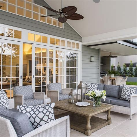 relaxed tropical queensland hamptons style home coastal