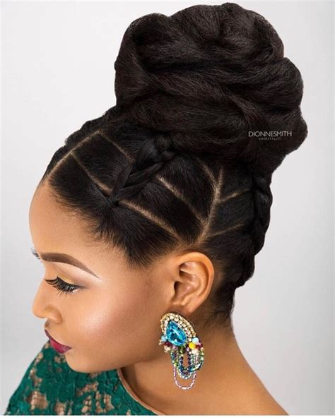5 interesting natural wedding hairstyles for black women natural hair ponytail styles interesting black ponytail