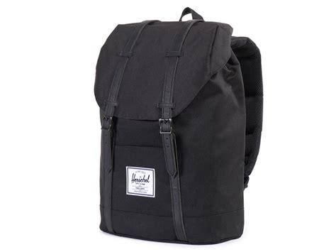 Herschel Macbook Tas herschel retreat rugzak laptoptas black black