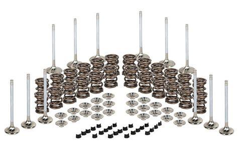 Velve Size L 13 17kg ferrea vr6 12v 2 8l valvetrain kit stock size valves