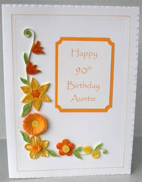 90th birthday card loving the colors card ideas