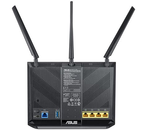 Router Wifi Pc asus dsl ac68u wifi modem router ac 1900 dual band deals pc world