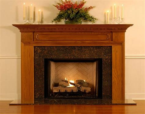 Fireplace Mantels Decor by Modern Wood Fireplace Mantel Decor Wooden Fireplace