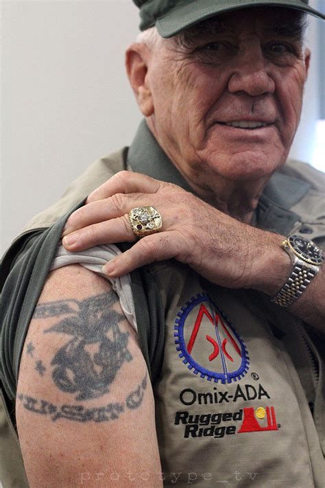 tattoo you r lee ermey from full metal jacket showed