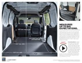 Ford Transit Connect Dimensions 2015 Ford Transit Connect Brochure Farmington Ford