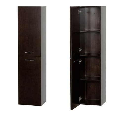 Espresso Bathroom Storage Accara Bathroom Wall Cabinet Espresso Bathroom Storage Wyndham Collection
