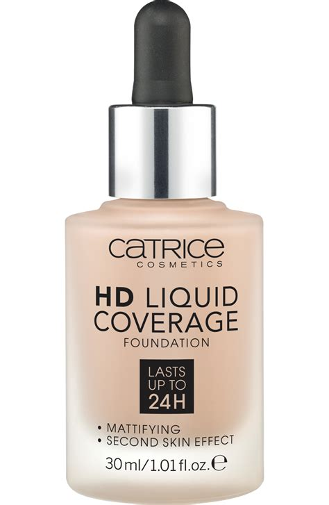 Makeup Catrice catrice make up hd liquid coverage foundation warm beige