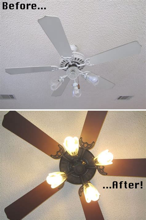 painting ceiling fans painting ceiling fans on ceiling fan redo ceiling fan makeover and painting
