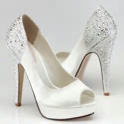 chaussure mariage poudrã chaussures mariage talon haut recouvert de cristal instant pr 233 cieux