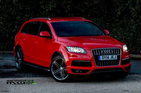 Audi Q7 Rot by Audi Q7 3m 1080 Gloss Wrap By