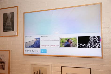 samsung picture frame tv this designer samsung tv looks like a painting page 25 cnet