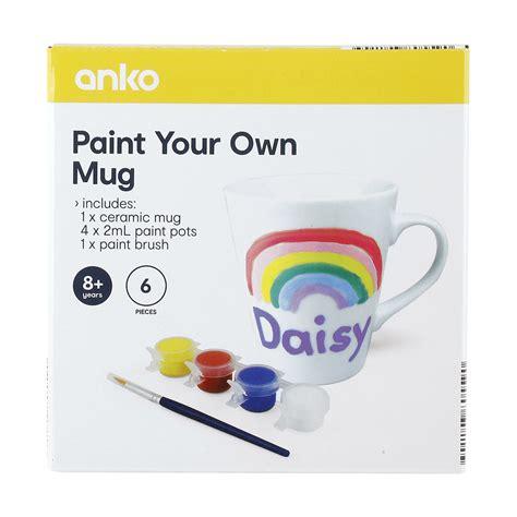Paint Your 6 paint your own mug kmart
