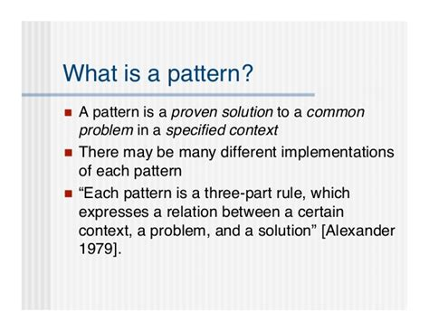 pattern way meaning fluid design pattern library