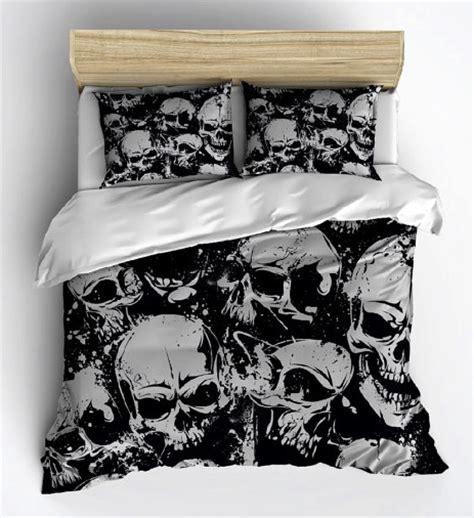 skull bedding queen skull bed sheets 3d skull designer 3bedding set queen