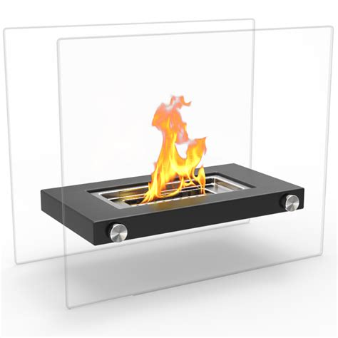 Portable Ventless Fireplace by Regal Monrow Ventless Tabletop Portable Bio Ethanol