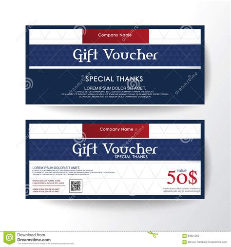 business card voucher template business coupon template mughals