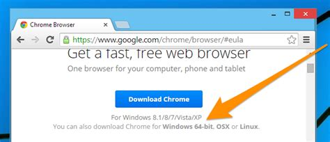google chrome download full version free 64 bit how to tell if you have the 32 bit or 64 bit version of