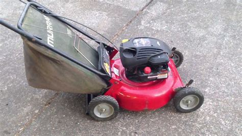 Briggs And Stratton Lawn Mower Model 90000 - murray 204210x92a 20 quot briggs and stratton 4 5 hp q