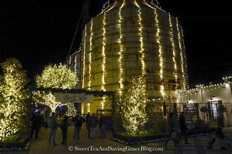 experience christmas at the silos sweet tea saving grace