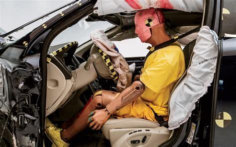 crash dummies car crash testing front seat with dummy photo 25