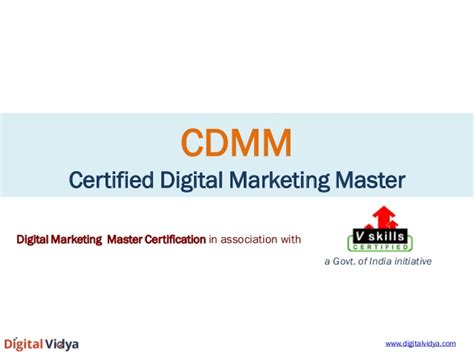 digital marketing certification course in india digital digital marketing certification course cdmm