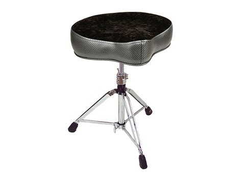 Pork Pie Drum Stool by Big Boy Carbon Fiber Black Crush Throne Pork Pie Percussion